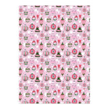 Retro Ornament Wrapping Paper