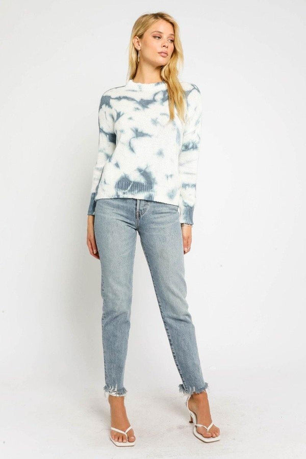 Blue Tie Dye Sweater