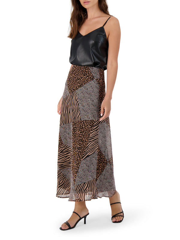 She's A Wild One Skirt - Traveling Chic Boutique, VA