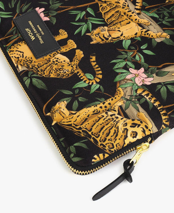 "13"" Black Lazy Jungle Laptop Sleeve"