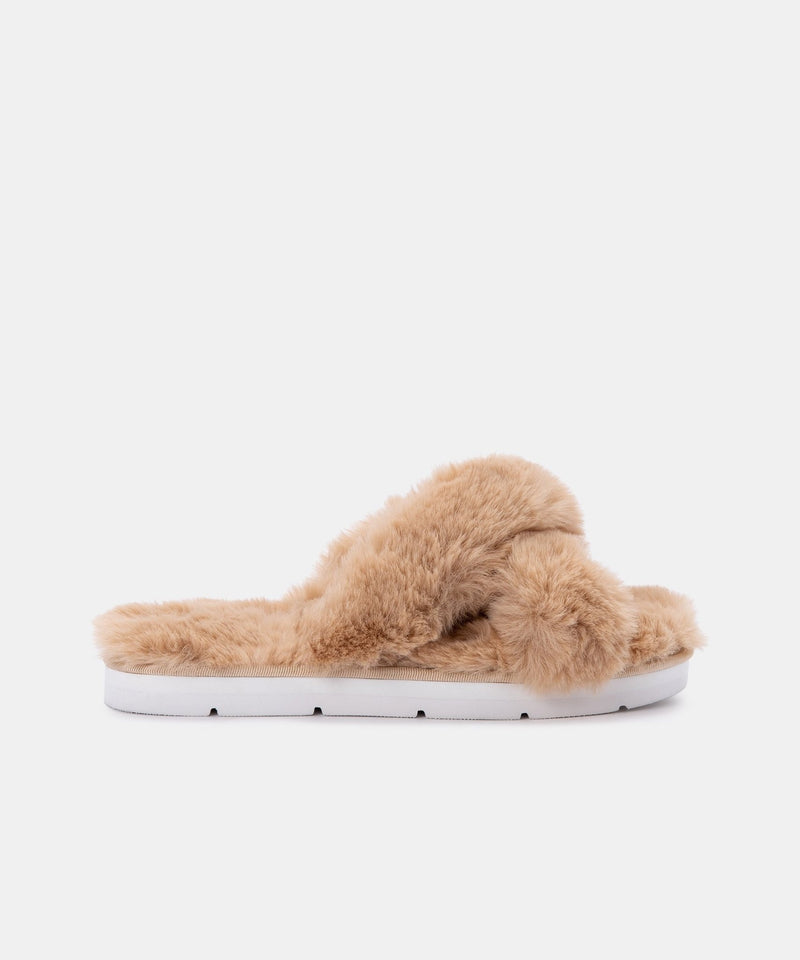 Pillar Faux Fur Slippers - Traveling Chic Boutique, VA