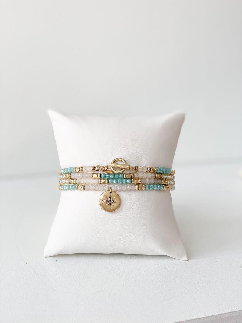 Charm Wrap Bracelet & Necklace - Traveling Chic Boutique, VA