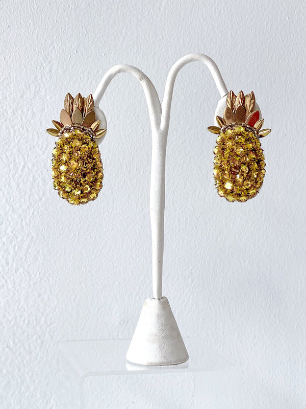 Pineapple Clip-Ons - Traveling Chic Boutique, VA