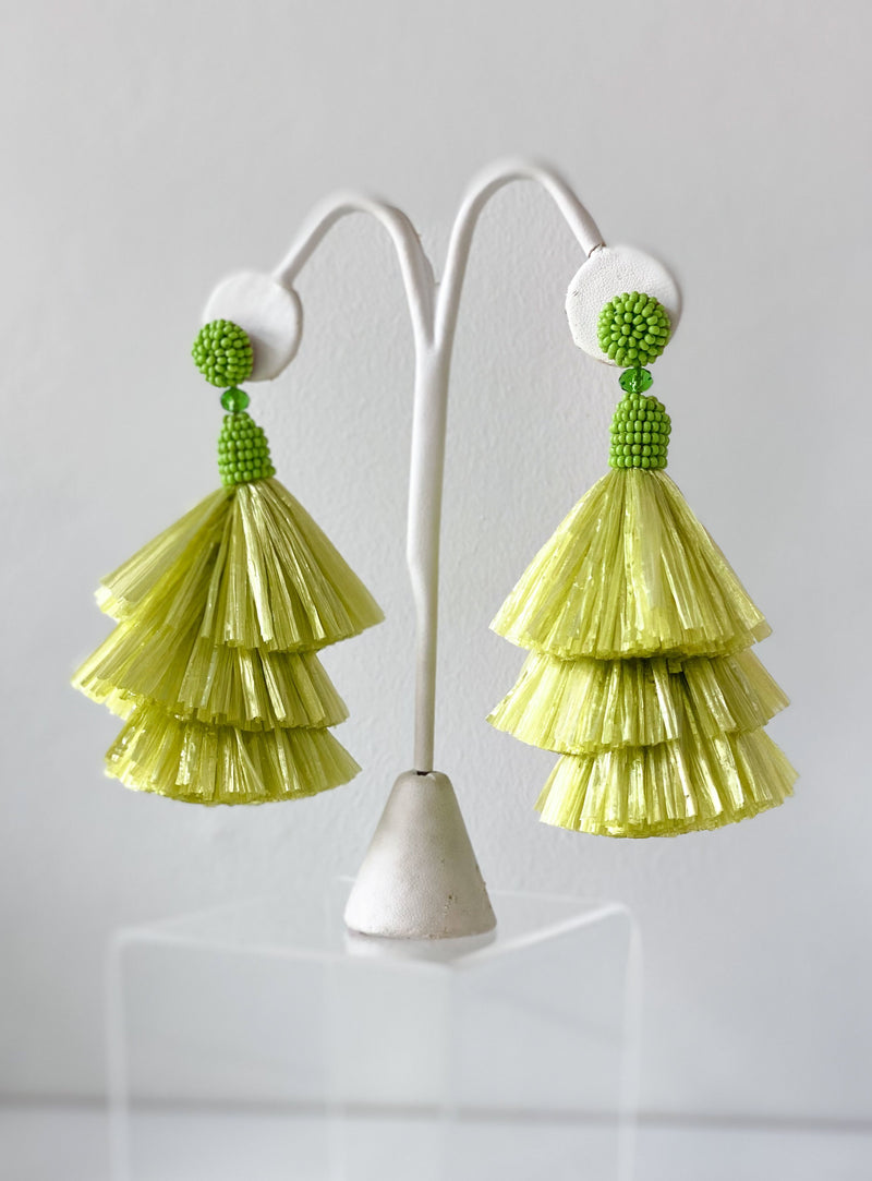 Raffia Earrings - Traveling Chic Boutique, VA