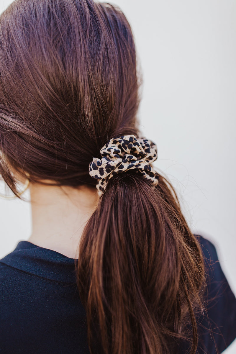 Cheetah Scrunchie - Traveling Chic Boutique, VA