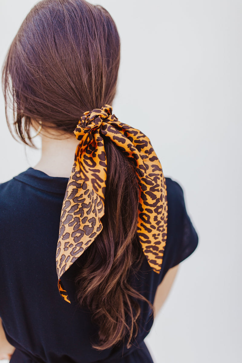 Cheetah Hair Scarf