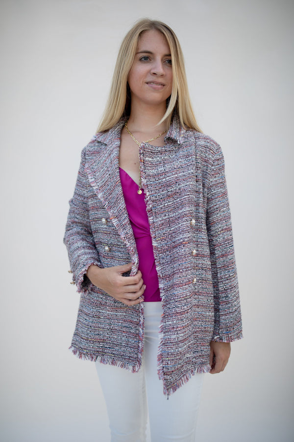 Tweed Jacket - Traveling Chic Boutique, VA