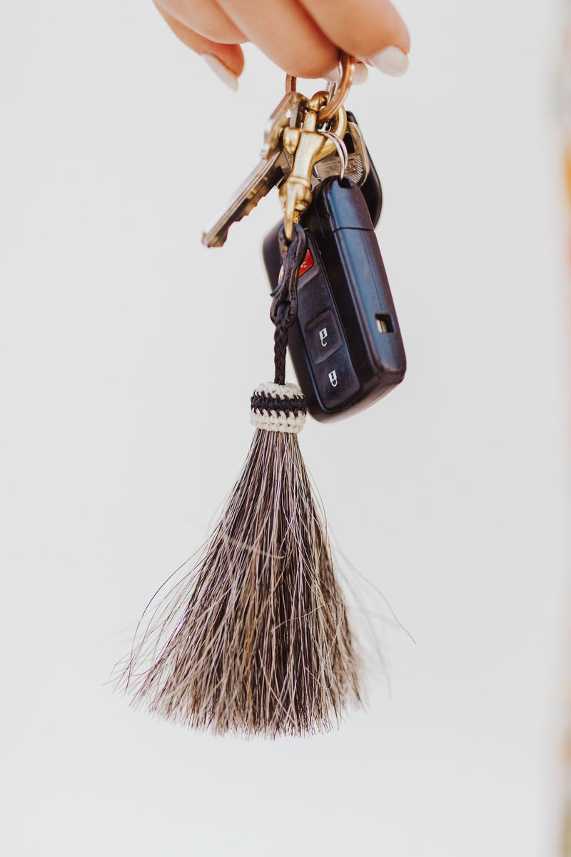 Horse Hair Keychain - Traveling Chic Boutique, VA