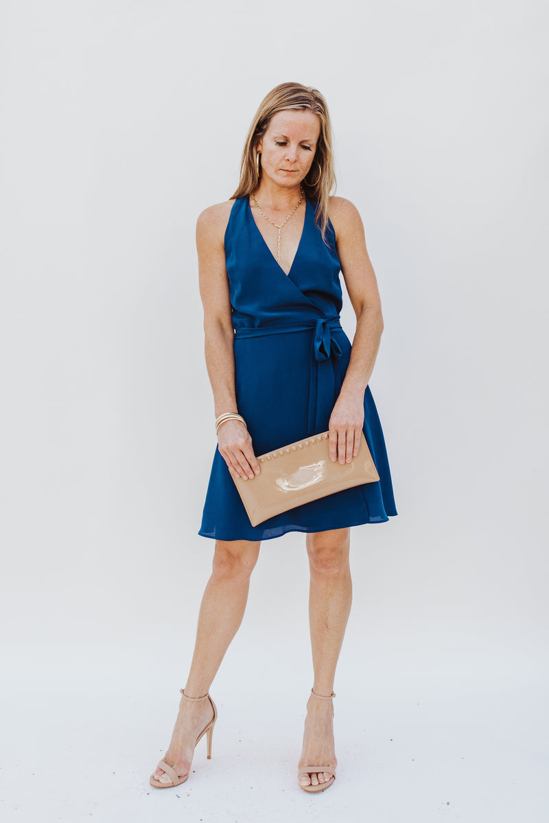 Racerback Wrap Dress