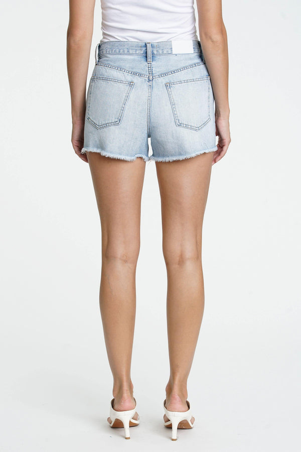 Nova High Rise Short in Cloud Nine - Traveling Chic Boutique, VA