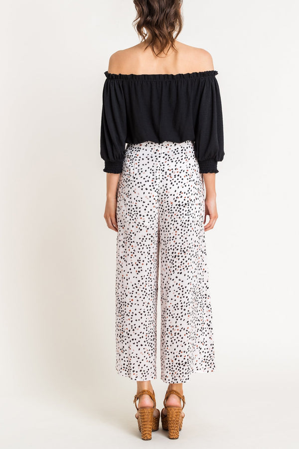 Printed High Waisted Pants - Traveling Chic Boutique, VA