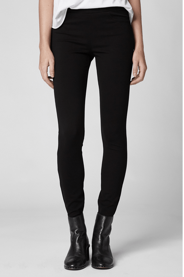 Black Ponte Legging - Traveling Chic Boutique, VA