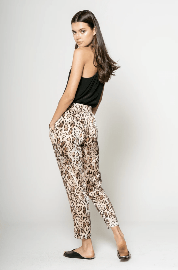 Leopard Joggers - Traveling Chic Boutique, VA