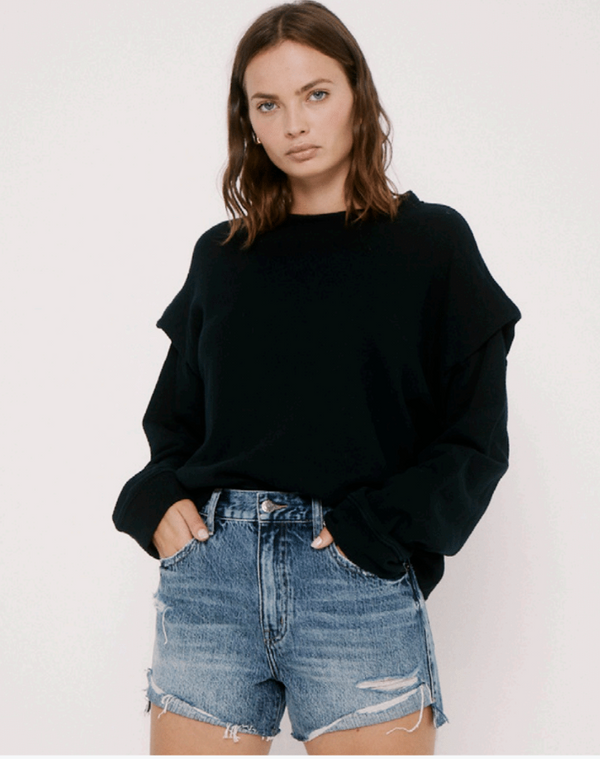 Lenora Sweatshirt in Black