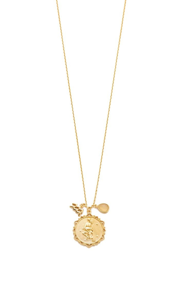 Zodiac Charm Necklace - Traveling Chic Boutique, VA