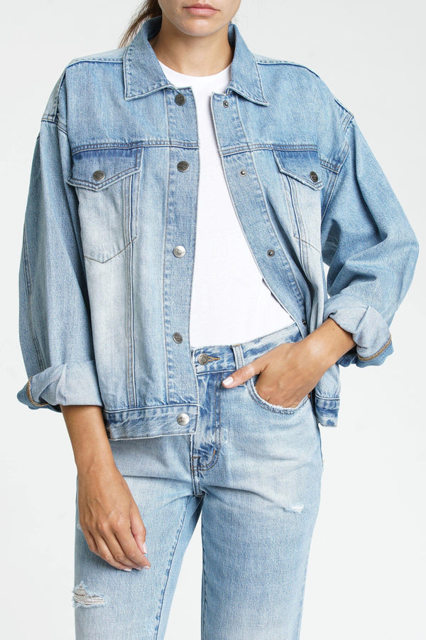Elsa Denim Jacket - Traveling Chic Boutique, VA
