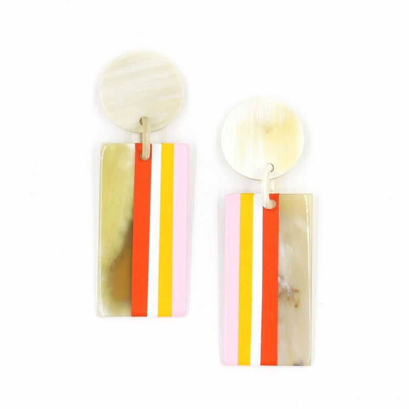 Strawberry Cabana Earring - Traveling Chic Boutique, VA