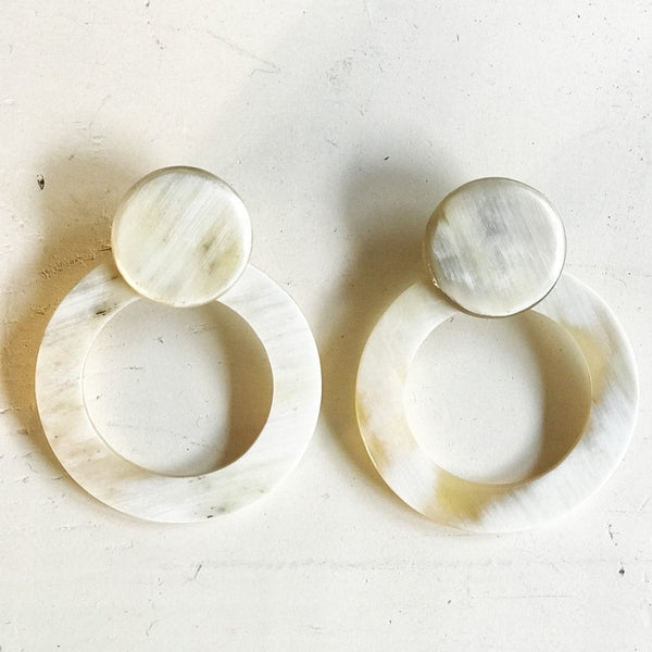 Double Circle Earring