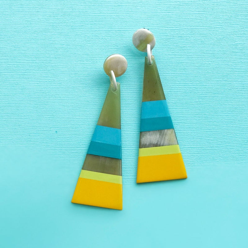 Boardwalk Umbrella Earrings