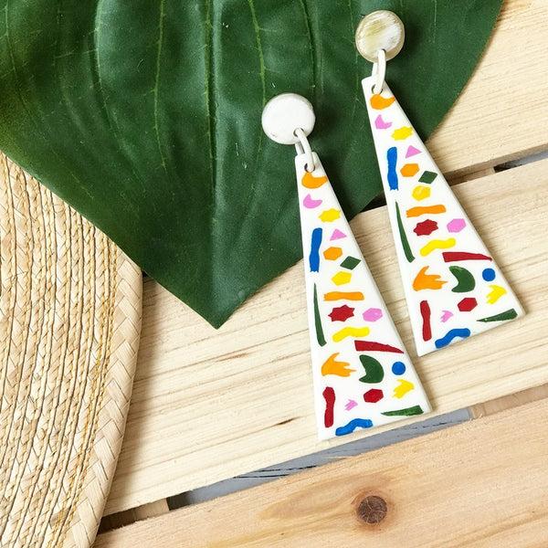 Confetti Umbrella Earrings
