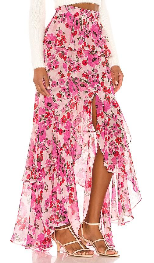 Midi Floral Skirt - Traveling Chic Boutique, VA