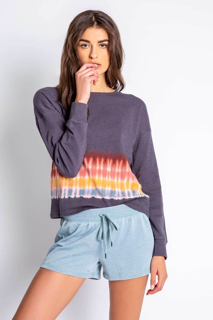 Groovy Kind Of Love Sweatshirt - Traveling Chic Boutique, VA