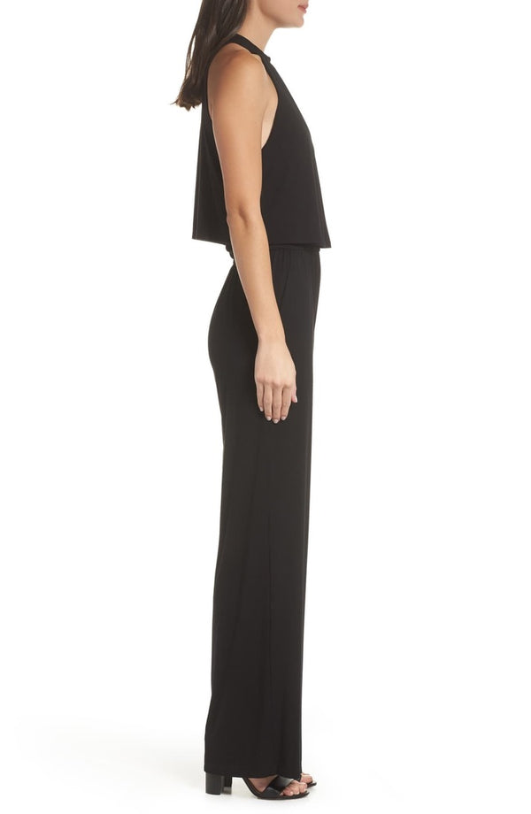 Sleeveless Stretch Jumpsuit