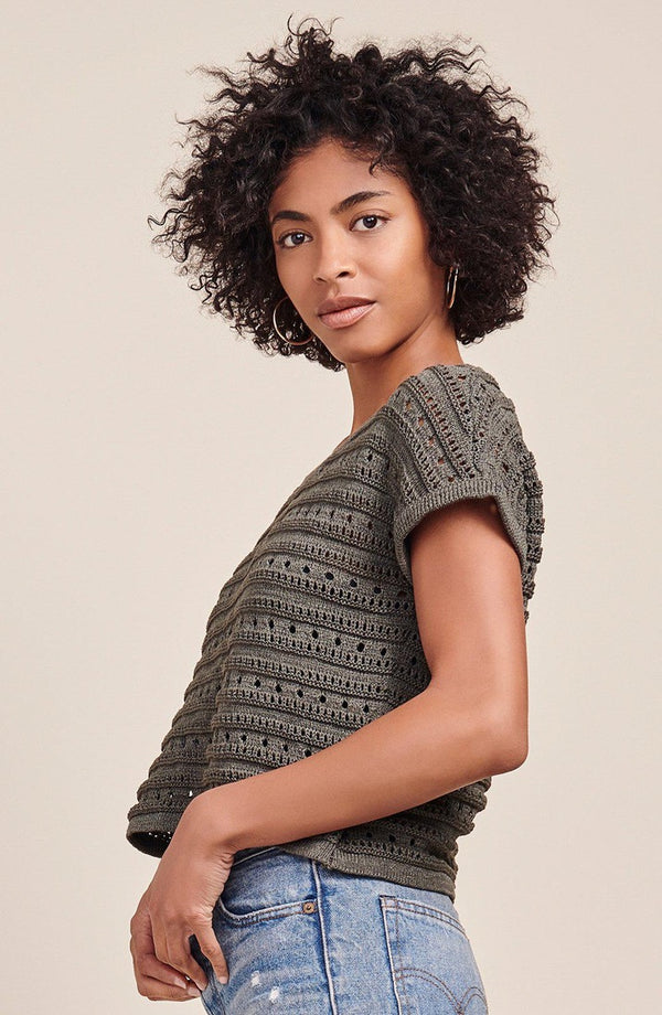 Larter Crop Sweater
