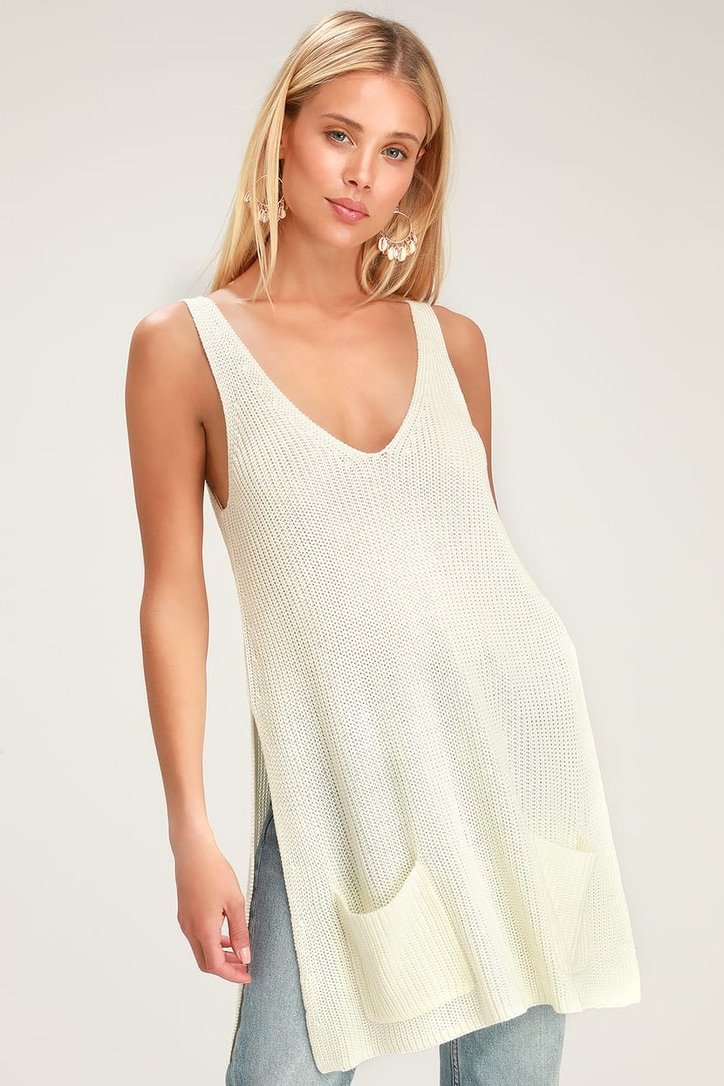 Sweater This Way Tank