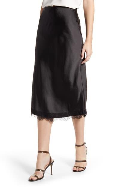 Indio Satin Midi Skirt - Traveling Chic Boutique, VA