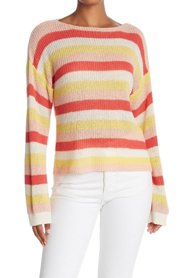 Lex Stripe Sweater - Traveling Chic Boutique, VA