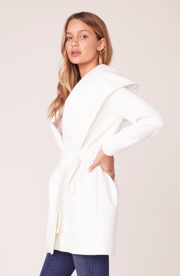 Take Cover Wrap Coat