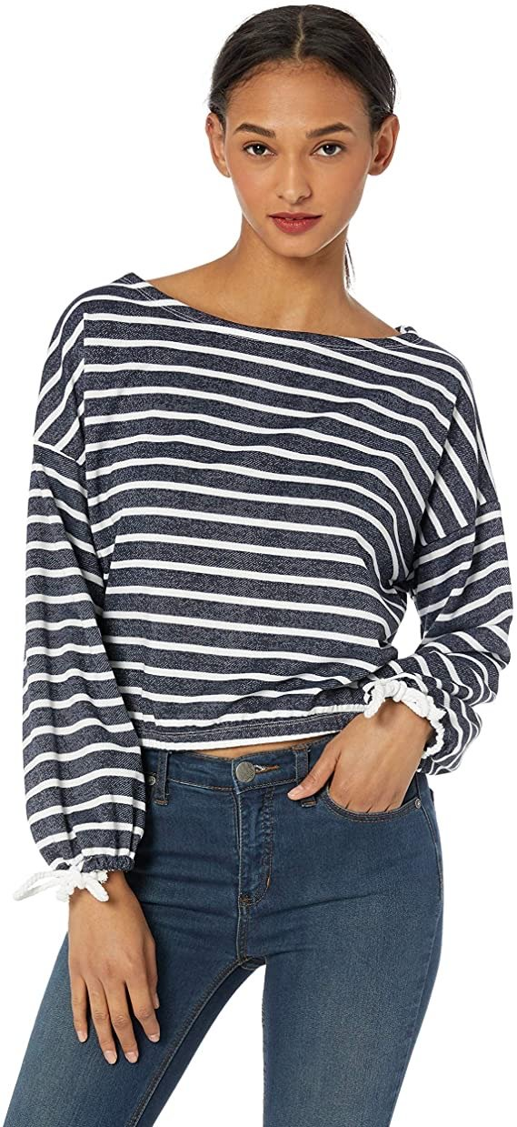 Rosalee Boat Neck Sweatshirt - Traveling Chic Boutique, VA