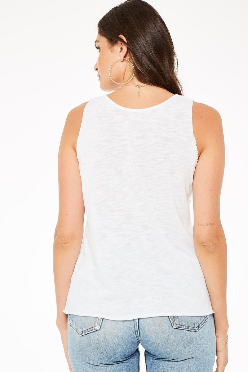 Lost Hill Textured Tank - Traveling Chic Boutique, VA