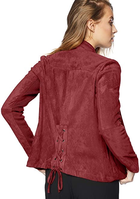 Earned It Faux Suede Jacket