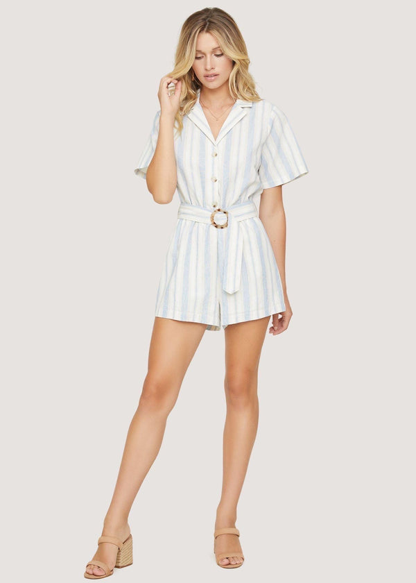 Beachside Pier Romper - Traveling Chic Boutique, VA