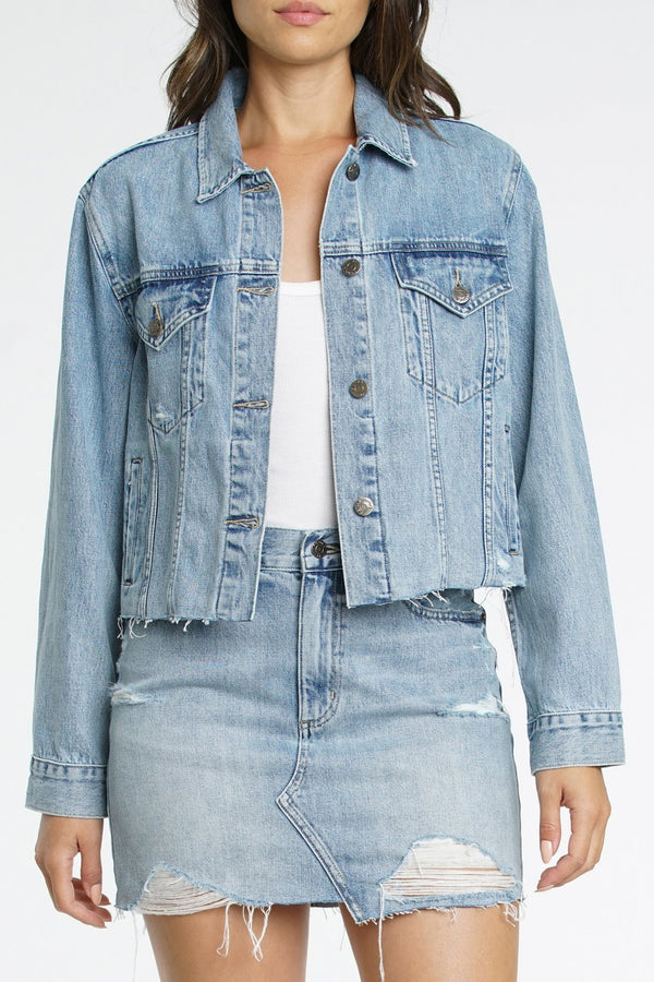 Naya Crop Denim Jacket