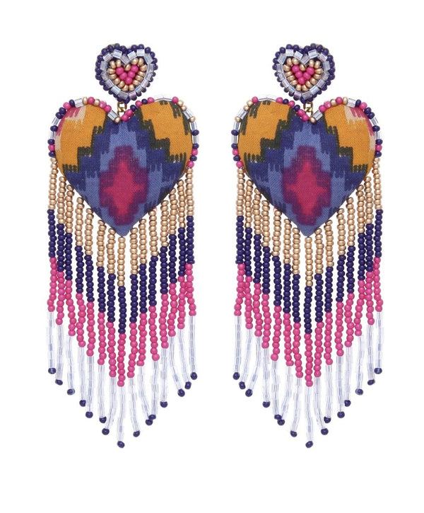 Passion Earrings - Traveling Chic Boutique, VA