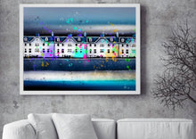 Load image into Gallery viewer, 'costal village, ' - Fine Art Poster/Fine Art Print - Rose Hurles Art