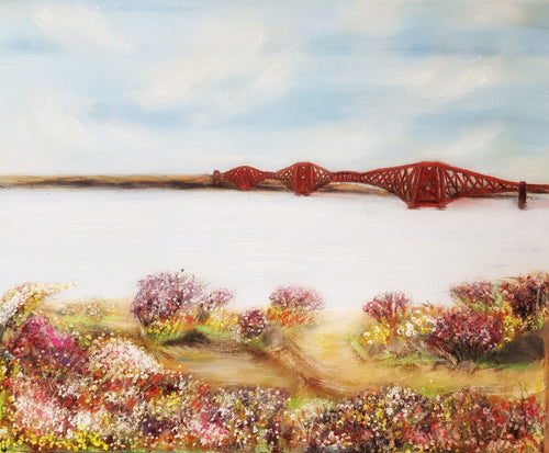 Forth Bridge- Fine Art Poster/Fine Art Print - Rose Hurles Art