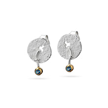 Load image into Gallery viewer, Earrings with fallen stone (stud earrings)