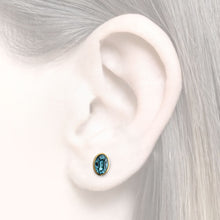 Load image into Gallery viewer, Earrings as an additions to the earcuffs with zirconia