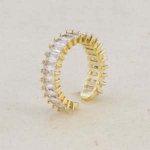 Nora Baguette Diamond Ring - Jomami