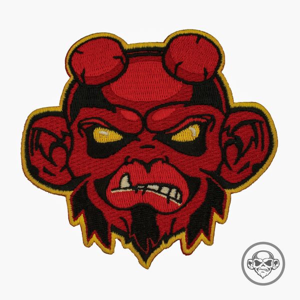 Grumpy Hellboy Monkey Morale Patch