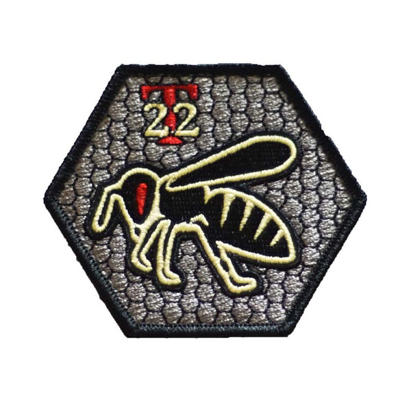 """Titanium Bee"" Nylon Morale Patch"