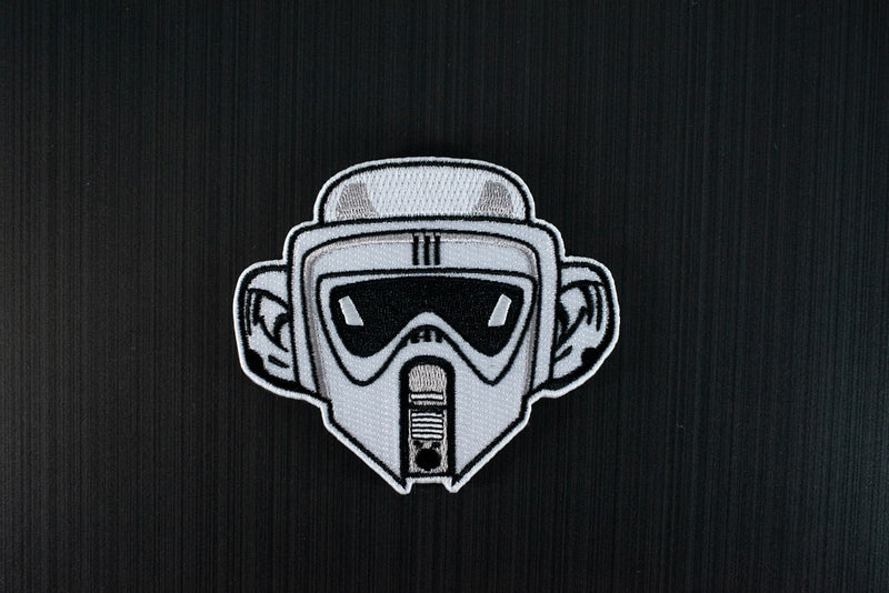 Grumpy Biker Scout Trooper Monkey Morale Patch