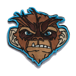 Blue 2017 Gathering Grumpy Monkey Morale Patch