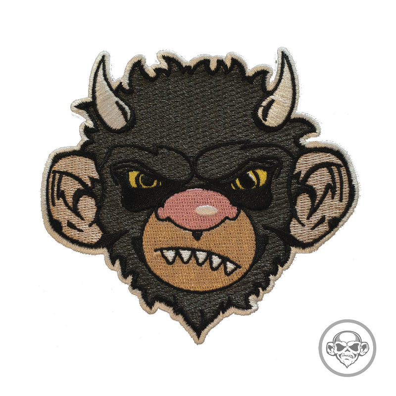 Grumpy and Wild Moishe Monkey Morale Patch