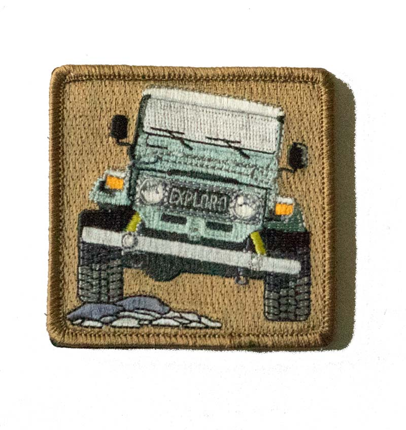 Trail Team Morale Patch