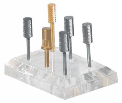 Acrylic Bit Holder Clear - NAILMALL - Nail Supply Store Acrylic Bit Holder